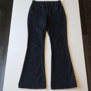NYDJ  Farrah Jeans, dark enzyme wash